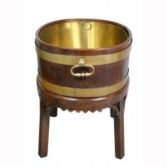 George III Mahogany and Brass Mounted Wine Cooler - 1558106