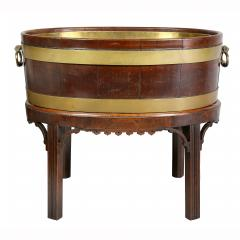 George III Mahogany and Brass Mounted Wine Cooler - 1558110