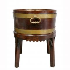George III Mahogany and Brass Mounted Wine Cooler - 1558111