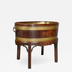 George III Mahogany and Brass Mounted Wine Cooler - 1558537