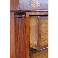 George III Oak and Mahogany Dresser or Sideboard - 1532259