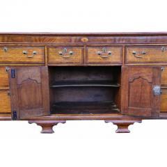 George III Oak and Mahogany Dresser or Sideboard - 1532262