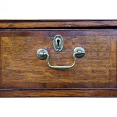 George III Oak and Mahogany Dresser or Sideboard - 1532281