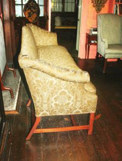 George III Period Camel Back Sofa - 1805841