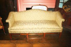 George III Period Camel Back Sofa - 1805843