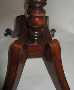 George III Period English Mahogany Drop Leaf Side Work Table - 874959