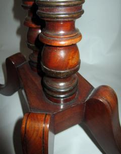 George III Period English Mahogany Drop Leaf Side Work Table - 874961