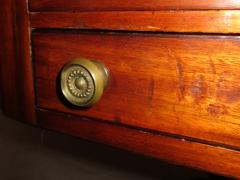 George III Period English Mahogany Drop Leaf Side Work Table - 874965