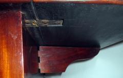 George III Period English Mahogany Drop Leaf Side Work Table - 874967