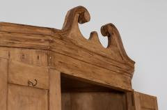 George III Pine Corner Cupboard - 2057121