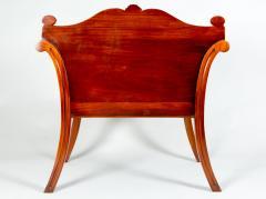 George III Style Mahogany Hall Chair - 1368611