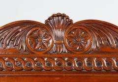George III Style Mahogany Hall Chair - 1368629