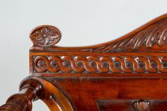 George III Style Mahogany Hall Chair - 1368632