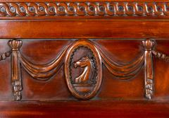 George III Style Mahogany Hall Chair - 1368641