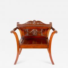 George III Style Mahogany Hall Chair - 1369330