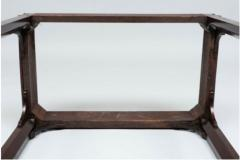 George III carved mahogany fretwork table - 1387329
