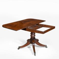 George III pair of mahogany console tables convert into a dining table - 826708