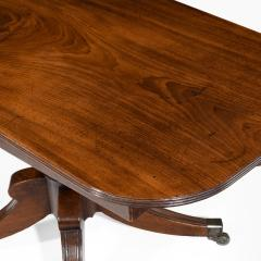 George III pair of mahogany console tables convert into a dining table - 826709