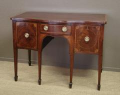 George III period mahogany marquetry sideboard of convenient size - 2046264