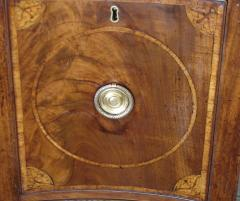 George III period mahogany marquetry sideboard of convenient size - 2046265