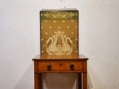 George IV Burr Elm Dressing Table With Silk Screen Circa 1825 - 1306374