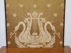 George IV Burr Elm Dressing Table With Silk Screen Circa 1825 - 1306377