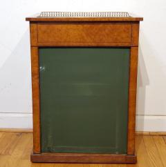 George IV Burr Elm Dressing Table With Silk Screen Circa 1825 - 1306380