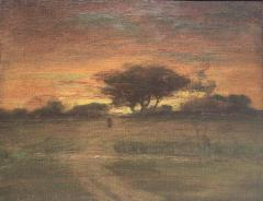 George Inness Sunset Walk to the Village - 1702179