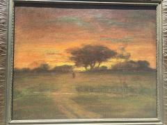 George Inness Sunset Walk to the Village - 1702180
