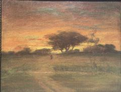 George Inness Sunset Walk to the Village - 1702181