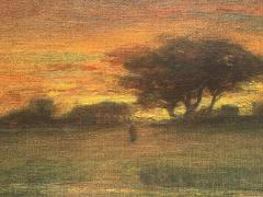 George Inness Sunset Walk to the Village - 1702182