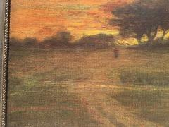 George Inness Sunset Walk to the Village - 1702184