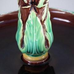 George Jones Victorian George Jones Majolica Mistletoe Epergne - 1755171