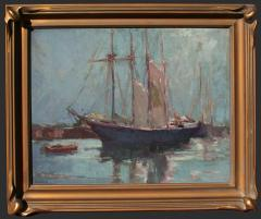 George Kennedy Brandriff Harbor Scene - 504357