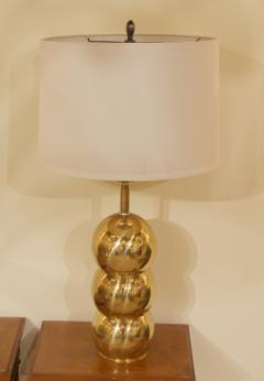 George Kovacs Kovacs Style Brass Orb Lamp - 1826279