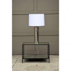George Kovacs Minimalistic Chrome Cylinder Table Lamp By George Kovacs - 1080916