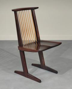 George Nakashima 12 Extremely Rare East Indian Rosewood Conoid Dining Chairs 1971 2 - 346744