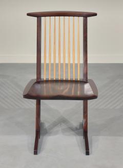 George Nakashima 12 Extremely Rare East Indian Rosewood Conoid Dining Chairs 1971 2 - 346745