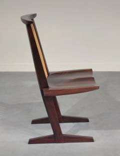 George Nakashima 12 Extremely Rare East Indian Rosewood Conoid Dining Chairs 1971 2 - 346746