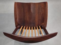George Nakashima 12 Extremely Rare East Indian Rosewood Conoid Dining Chairs 1971 2 - 346748