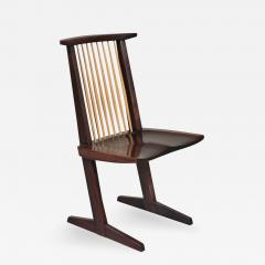 George Nakashima 12 Extremely Rare East Indian Rosewood Conoid Dining Chairs 1971 2 - 347876