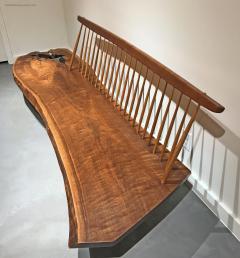 George Nakashima Conoid Bench by George Nakashima - 604571