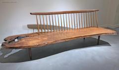 George Nakashima Conoid Bench by George Nakashima - 604572
