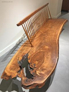 George Nakashima Conoid Bench by George Nakashima - 604573