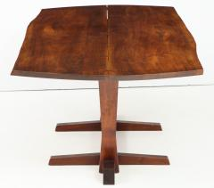 George Nakashima Conoid Dining Table Accompanied by Set of Six New Chairs - 1276911