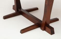 George Nakashima Conoid Dining Table Accompanied by Set of Six New Chairs - 1276912