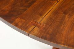 George Nakashima Conoid Dining Table Accompanied by Set of Six New Chairs - 1276918