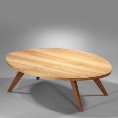 George Nakashima Early Oval Coffee Table 1950 - 16289