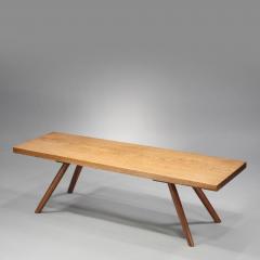 George Nakashima Early Plank Coffee Table 1945 - 16308