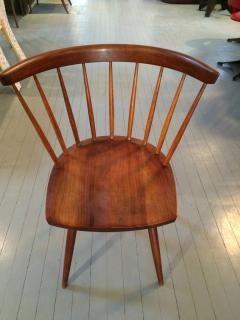 George Nakashima Early Set of Four Straight Back Chairs - 110905